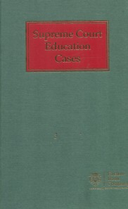 Supreme Court Education Cases (Set of 8 Volumes)