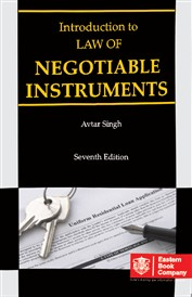 Introduction to Law of Negotiable Instruments (Old Edition)