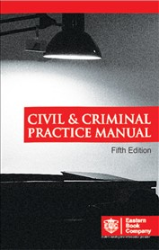 Civil and Criminal Practice Manual (Large Edition)