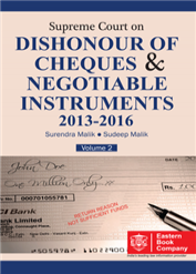 Supreme Court on Dishonour of Cheques And Negotiable Instruments