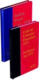 Criminal Manual (Coat Pocket Edition) [in 2 Vols.] - (Containing CrPC, IPC and Evidence Act)
