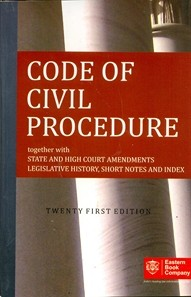 Code of Civil Procedure, 1908 (Pocket Edition)