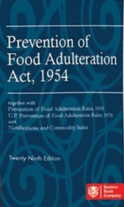 Prevention of Food Adulteration Act