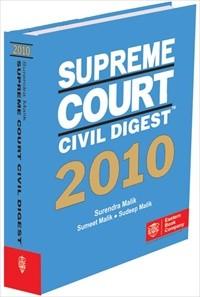 Supreme Court Civil Digest, 2010