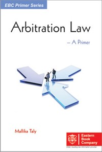 Arbitration Law- A Primer