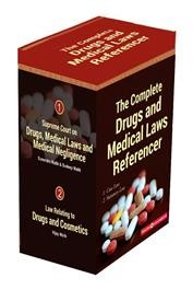 THE COMPLETE DRUGS AND MEDICAL LAWS REFERENCER