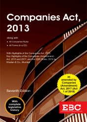 Companies Act 2013 [As amended by Finance Act, 2017]