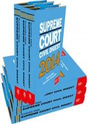 Supreme Court Civil Digest 2009 to 2014