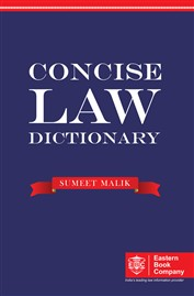 CONCISE LAW DICTIONARY (Pocket) by Sumeet Malik