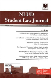NLUD Student Law Journal