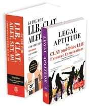 GUIDE FOR  LLB, CLAT AILET, SET, DU and Other Law Entrance Exams + LEGAL APTITUDE FOR CLAT AND OTHER LLB ENTRANCE EXAMINATIONS