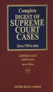 Complete Digest of Supreme Court Cases, Vol 41