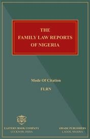 The Family Law Reports of Nigeria. (Vol. 1 - 8)
