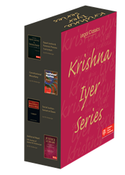 V.R. Krishna Iyer Series (Containing Justice at Heart+ Equal Justice and Forensic Process+Constitutional Miscellany+ Social Justice- Sunset or Dawn)