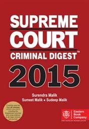 SUPREME COURT CRIMINAL DIGEST 2015
