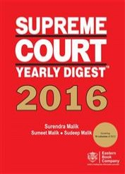 Supreme Court Yearly Digest  2016