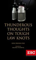 Thunderous Thoughts on Tough Law Knots by Koka Raghava Rao