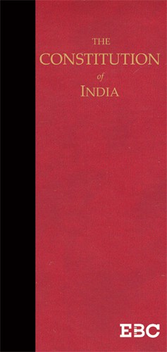 The Constitution of India (Coat Pocket Edition)