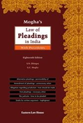 Mogha's Law of Pleadings in India with Precedents, 18th Edition
