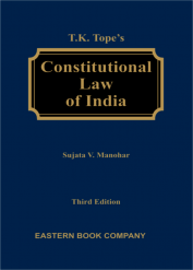 T K Tope  Constitutional Law of India