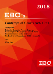 Contempt of Courts Act, 1971 - (Bare Act)