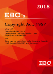 Copyright Act, 1957 along with Copyright Rules, 2013- [As amende by Finance Act, 2017] - (Bare Act)