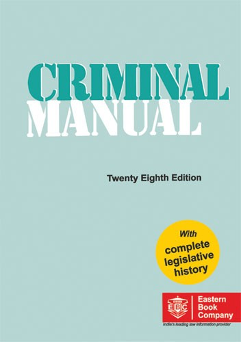 CRIMINAL MANUAL(Pocket Edition)Bare Act