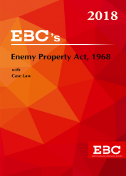 Enemy Property Act, 1968 with Case Law