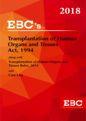 Transplantantation of Human Organs And Tissues Act, 1994