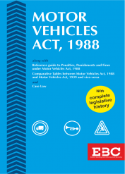 Motor Vehicles Act, 1988 along with Comparative Tables of Old and New Acts  - (Bare Act)