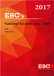 National Security Act, 1980 - (Bare Act)