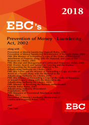 Prevention of Money Laundering Act 2002 (as amended by Finance Act, 2018)