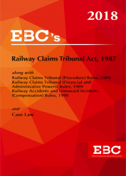 Railway Claims Tribunal Act, 1987 - [As amended by Finance Act, 2017]