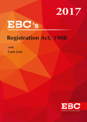 Registration Act, 1908 - (Bare Act)