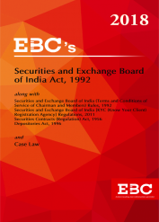 Securities & Exchange Board of India Act,1992 - [As amended by Finance Act, 2017]