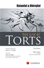Ratanlal and Dhirajlals The Law of Torts
