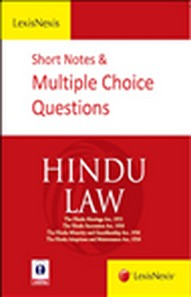 SHORT NOTES and MULTIPLE CHOICE QUESTIONS- Hindu Law