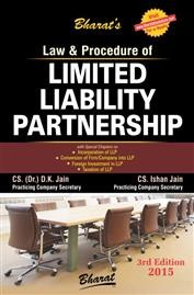 Law & Procedure of LIMITED LIABILITY PARTNERSHIP (with FREE CD)