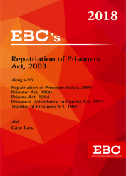 Repatriation of Prisoners Act, 2003 - (Bare Act)