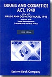 Drugs and Cosmetics Act, 1940
