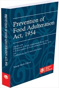 Food Adulteration - Prevention of Food Adulteration Act, 1954