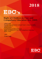 Right of Children to Free and Compulsory Education Act, 2009