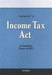 Income Tax Act - As Amended by Finance Act 2017