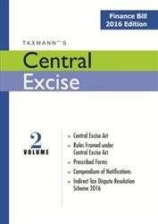 Central Excise (Vol 2) - Finance Bill 2016 Edition