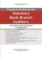 Practical Workbook for Statutory Bank Branch Auditors - In accordance with ICAI Standards on Auditing (SAs)