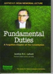 Fundamental Duties -Forgotten Chapter of the Constitution