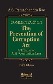 Commentary on the Prevention of Corruption Act