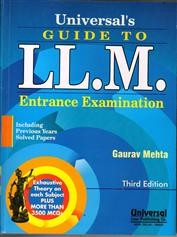 Guide to LL.M. Entrance Examination, Including Previous Years Solved Papers