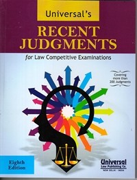 Recent Judgments, 8th Edn.
