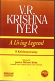 V.R.Krishna Iyer-A Living Legend, (Reprint)